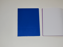 Main Lesson Book in Blue with Onion Skin