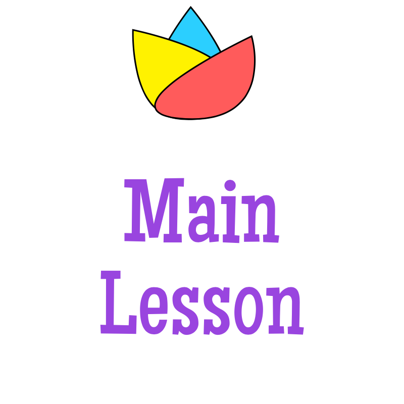 Main Lesson Enrichment Tile
